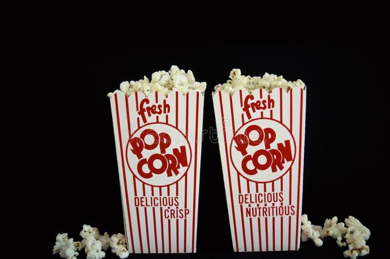 Popcorn boxes full royalty free stock photos