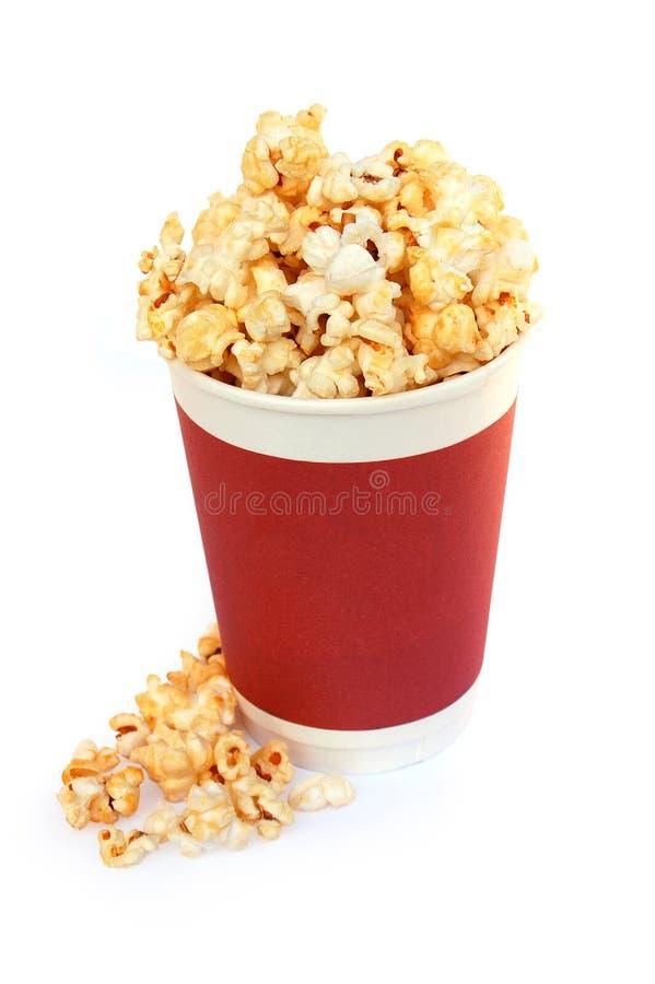 Popcorn bucket royalty free stock photos