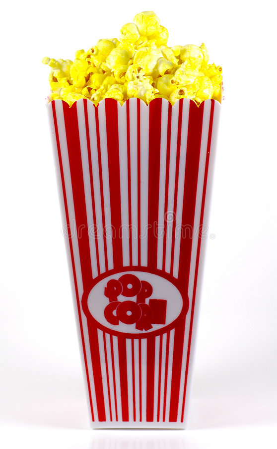 Popcorn Bucket 2 royalty free stock image