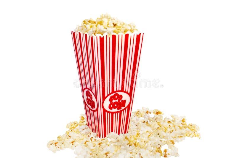 Popcorn And Bucket royalty free stock photos