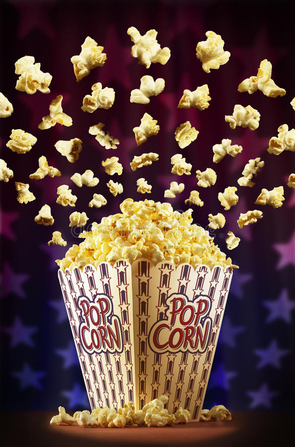 Download Popcorn circus stock image. Image of stage, american - 23889541