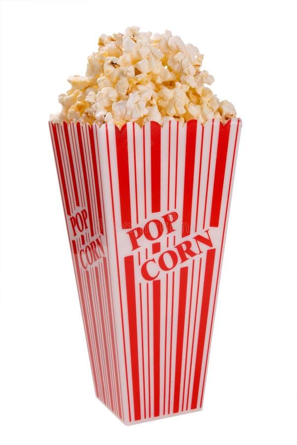 Popcorn in contenitore immagini stock libere da diritti