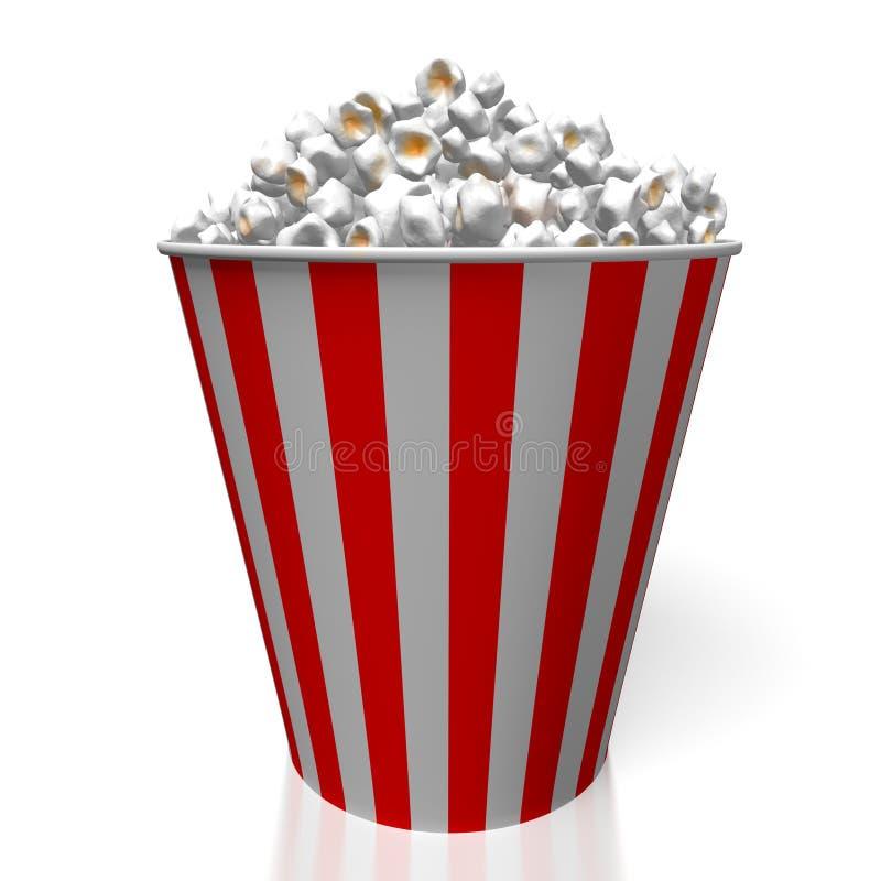 popcorn 3d stock illustrationer