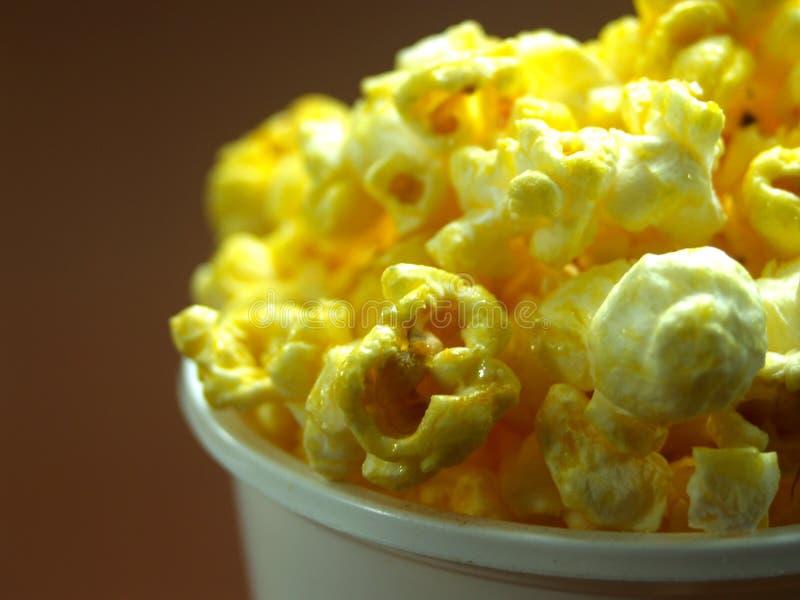 popcorn för 07 foto arkivbild