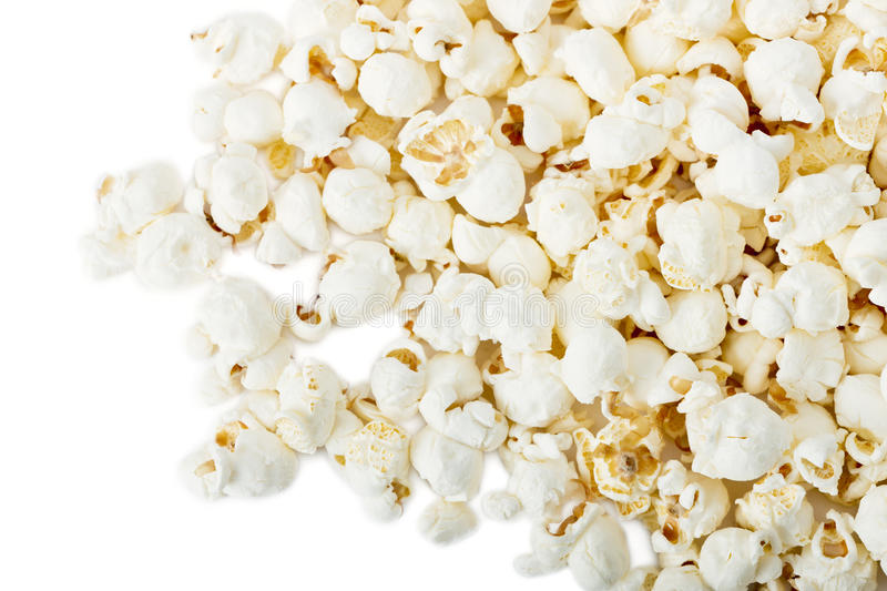 Download Popcorn isolated stock image. Image of buttery, popped - 18030165