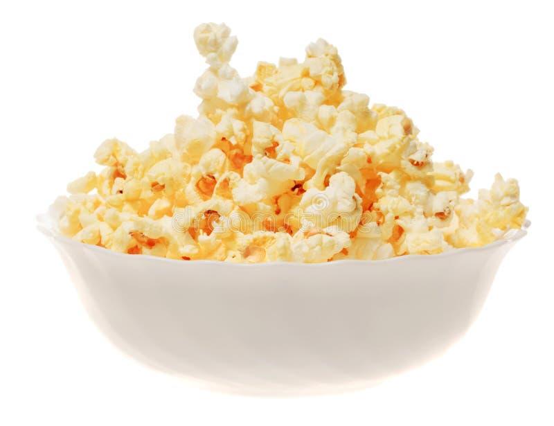 Popcorn isolato fotografia stock libera da diritti