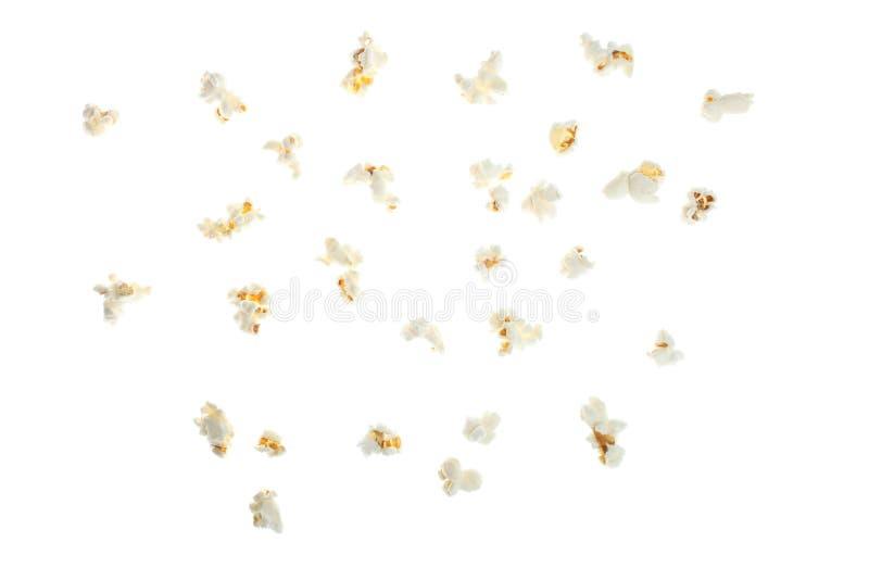 Popcorn salato dei grani fotografie stock libere da diritti