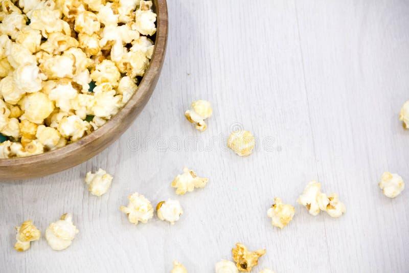 Popcorn salato dell'aria immagine stock