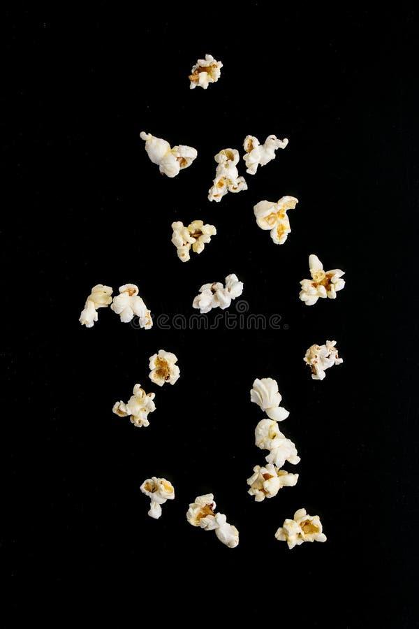 Popcorn salato pronto immagine stock libera da diritti