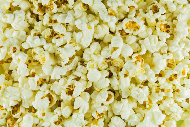 Popcorn salted white ready. On all photos. Wallpaper. Popcorn salted white ready. On all photos royalty free stock photos