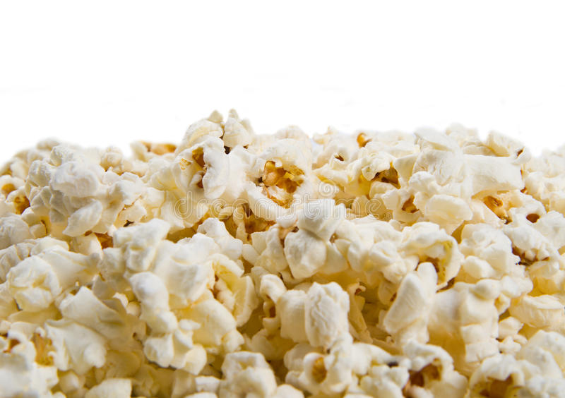 Popcorn texture background royalty free stock image