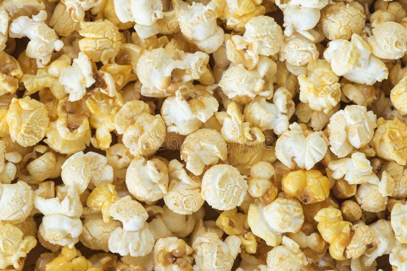 Popcorn voor achtergrond royalty-vrije stock fotografie