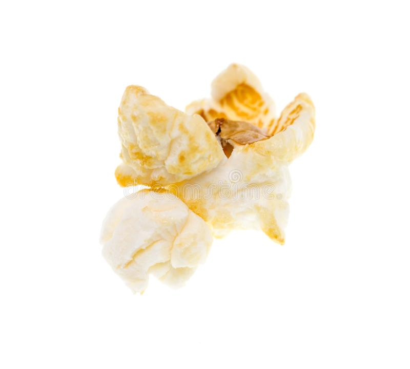 Popcorn on a white background royalty free stock images