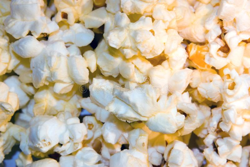 Popcornbakgrund arkivbilder