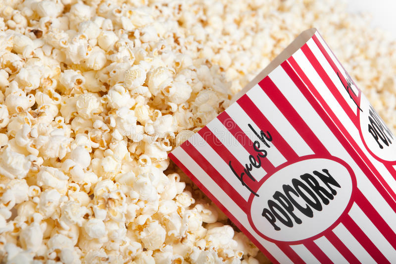 Popcornbeutel lizenzfreie stockfotografie