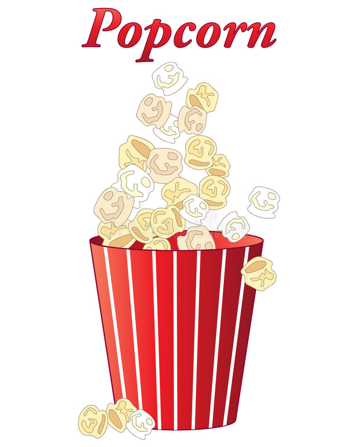 Popcornfest arkivfoton