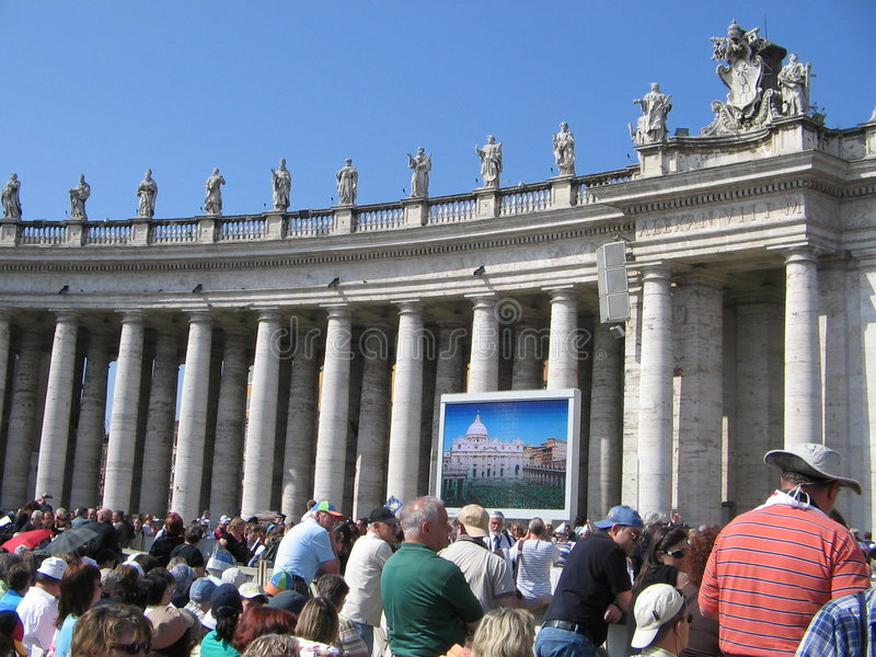 Download Pope Audience editorial stock photo. Image of editorial - 5188453