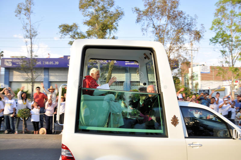 Pope Benedict XVI visit to Mexico