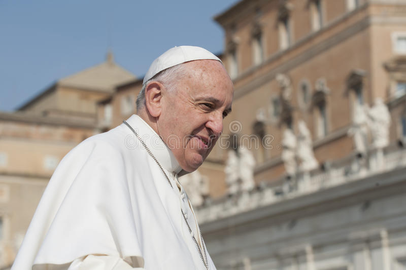 Pope Francis royalty free stock photo