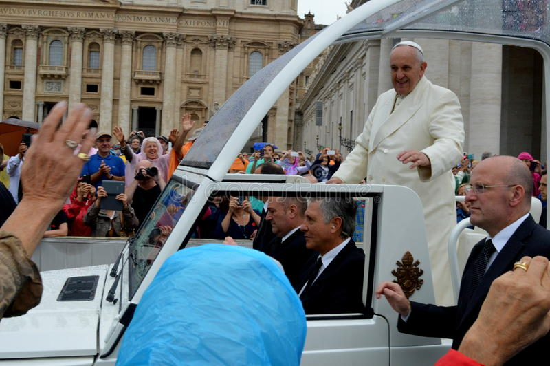 Pope Francisco fotografia royalty free