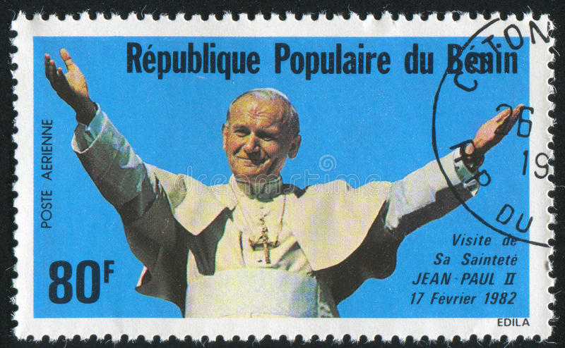 Pope John Paul Ii images libres de droits