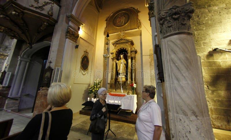 Pope John Paul II chapel in Mallorca royalty free stock photos