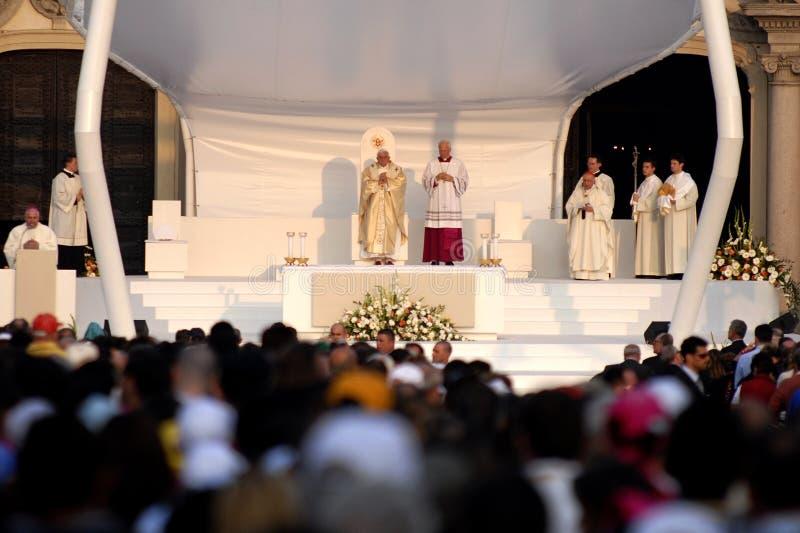 Pope Joseph Benedict XVI Editorial Photography