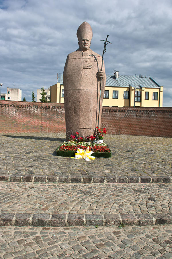 Download Pope monument editorial image. Image of landmark, pawel - 25224240