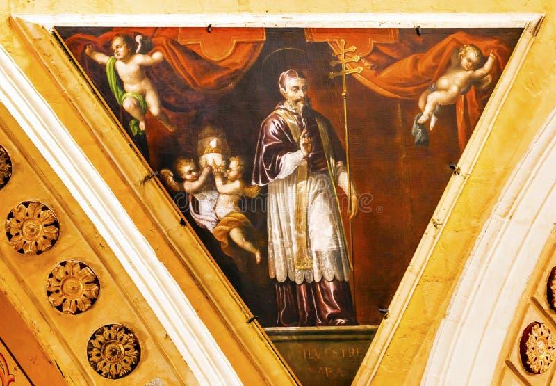 Pope Sylvester Nasz dama Guanajuato Meksyk obrazy royalty free