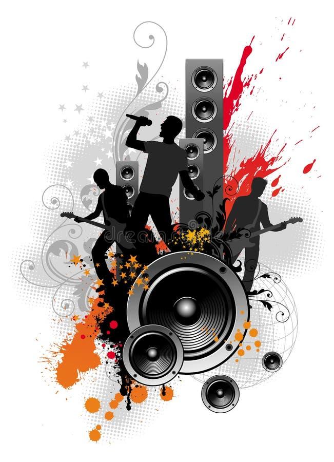 Popgroep vector illustratie