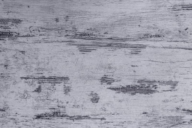 Popielata błękitna drewniana deska z teksturą jako tło fotografia royalty free