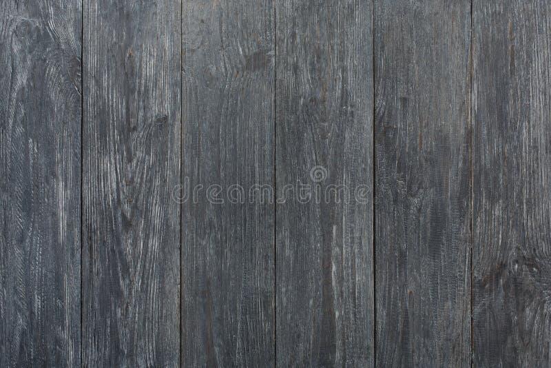 Popielata błękitna drewniana tekstura i tło obrazy stock
