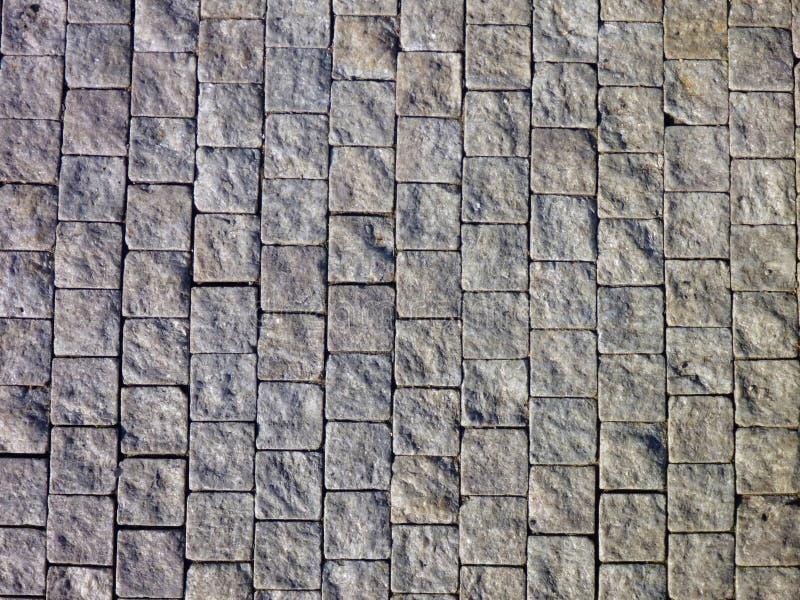 Popielata bruk tekstura miastowy chodniczek obraz stock