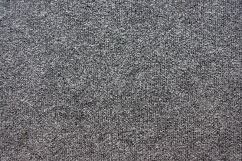 Popielata dywanowa tekstura obrazy stock