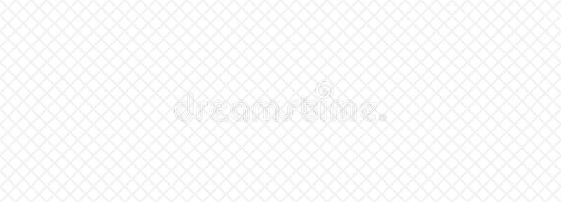 Popielata i biała siatka ilustracja wektor