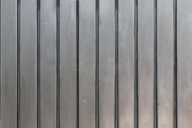 Popielata metalu drzwi tekstura obrazy stock