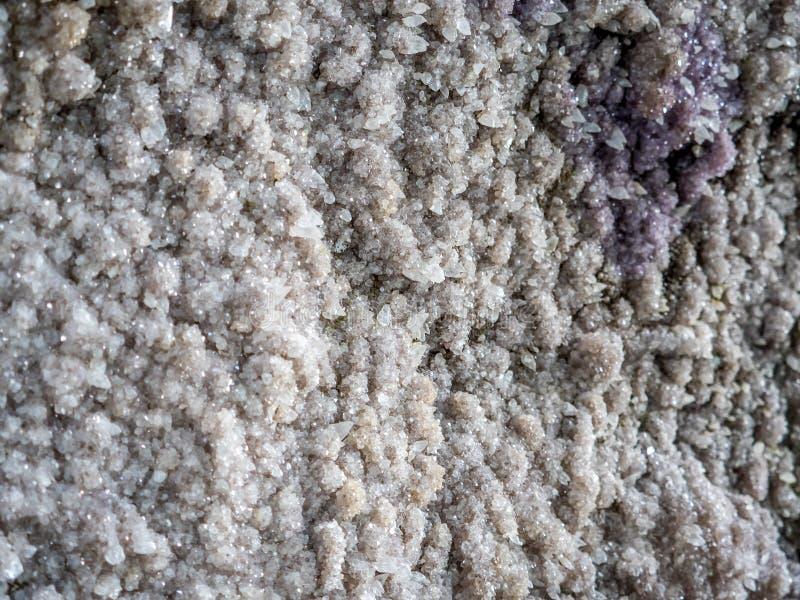 Popielata skała kamienia tekstura zdjęcia royalty free