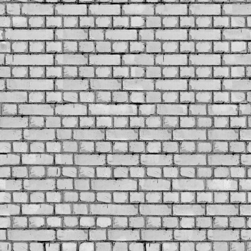 Popielaty ściana z cegieł tło. obraz royalty free