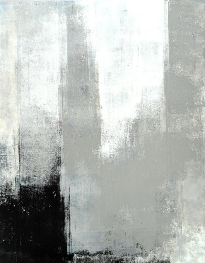 Popielaty Abstrakcjonistycznej sztuki obraz zdjęcia royalty free
