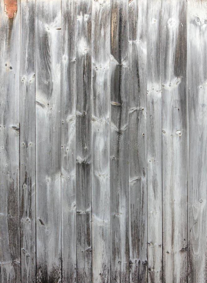 Popielaty antyk Wietrzejąca stajnia Wsiada tło zdjęcie stock