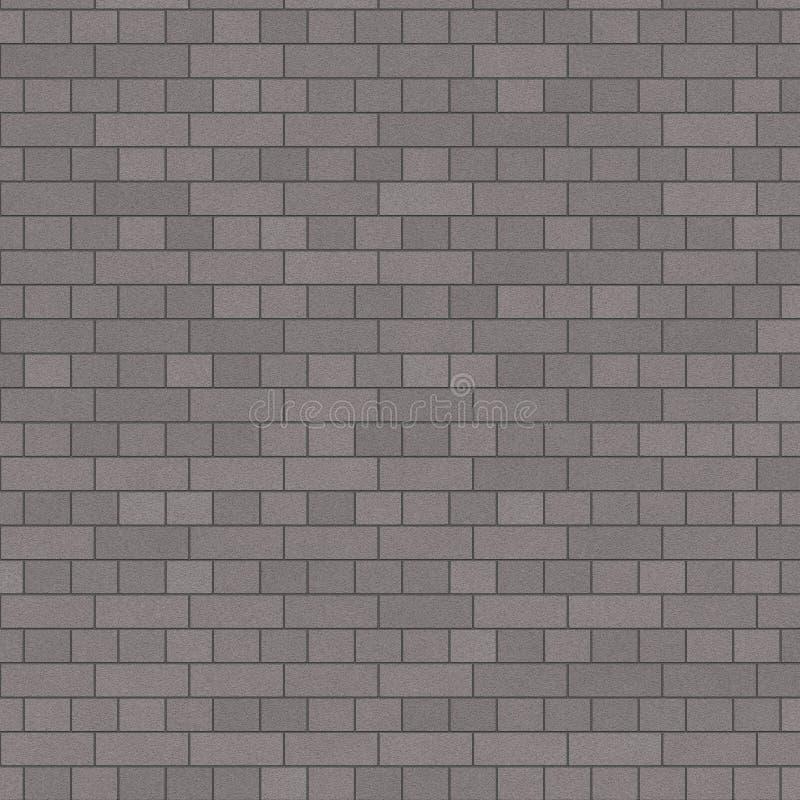 Popielaty Charchoal Ściana Z Cegieł royalty ilustracja