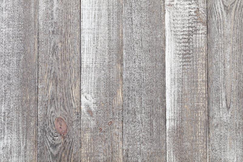 Popielaty drewniany stołowy tło Zamyka up wieśniaka drewna popielaty stół obrazy stock