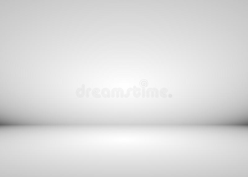 Popielaty i biały gradientowy tło fotografia stock
