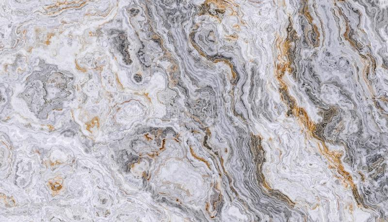 Popielaty kędzierzawy marmur zdjęcie royalty free