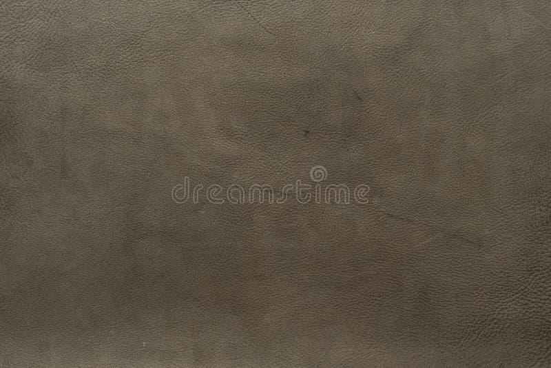 Popielaty, rocznik szarość barwią łydkowej krowy rzemienna tekstura i tło słoistej, ciężkiej, zdjęcie stock