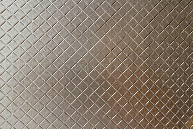 Popielaty rzemienny tło lub tekstura szary Fabrick zdjęcia royalty free