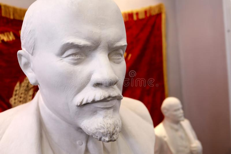 Popiersie Vladimir Lenin fotografia royalty free
