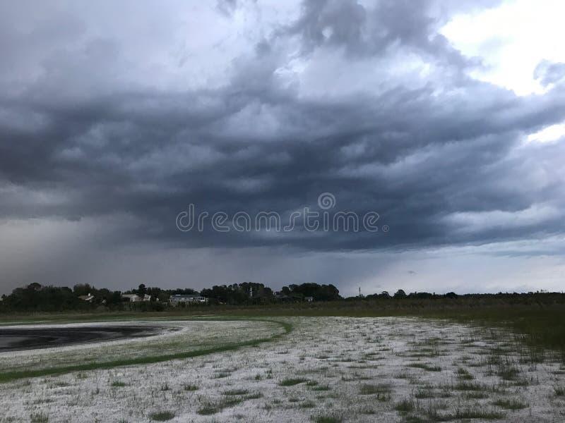 Popołudniowa burza zdjęcie royalty free