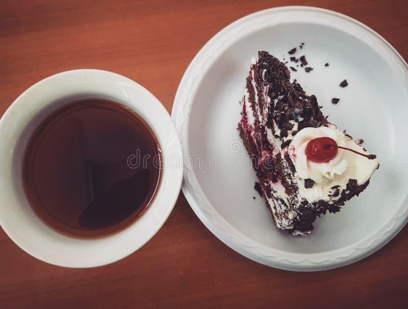 Popołudniowa herbata, Marzec 02, 2018 fotografia stock