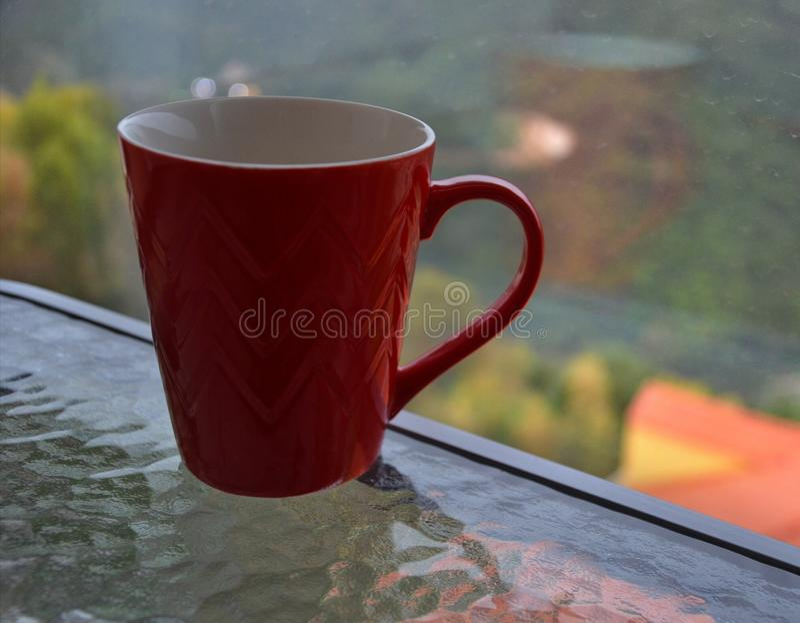 Popołudniowa kawa fotografia stock